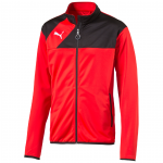 Mikina Puma Esquadra Poly Jacket red-black