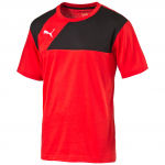 Triko Puma Esquadra Leisure T-Shirt red-black