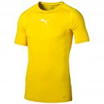 Triko Puma TB_S S Tee cyber yellow