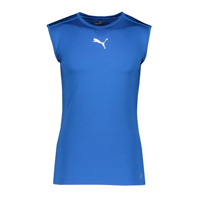 Camiseta Puma tb sleeveless shirt blau f02