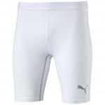 Kompresní šortky Puma TB_Short Tight white
