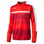 Mikina Puma Veloce Training Sweat red