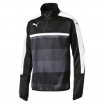 Bunda Puma Veloce 1 4 Zip Training Top black