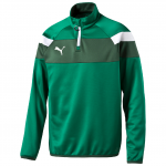 Mikina Puma Spirit II 1 4 Zip Training Top power gre