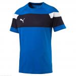 Triko Puma Spirit II Leisure T-Shirt royal-whi