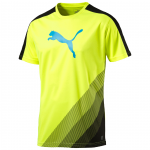 Triko Puma IT evoTRG Cat Graphic Tee safety yellow- – 2