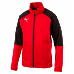 Ascension Rain Jacket Red- Blac