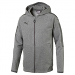 Mikina s kapucí Puma Ascension Casuals Hoody Medium Gray Heat