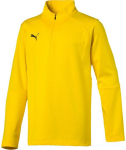 liga training 1/4 zip top kids