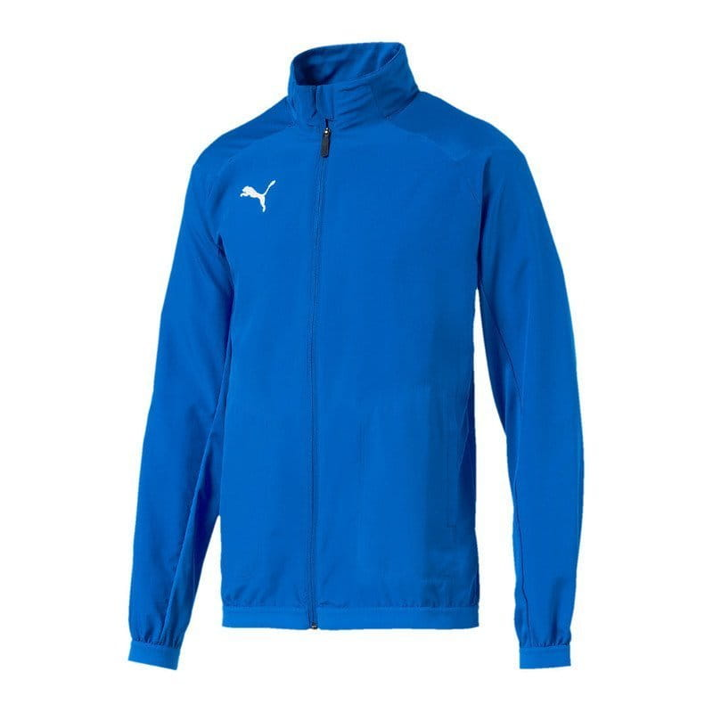 Puma LIGA Sideline Jacket Electric Blue Lemon Dzseki