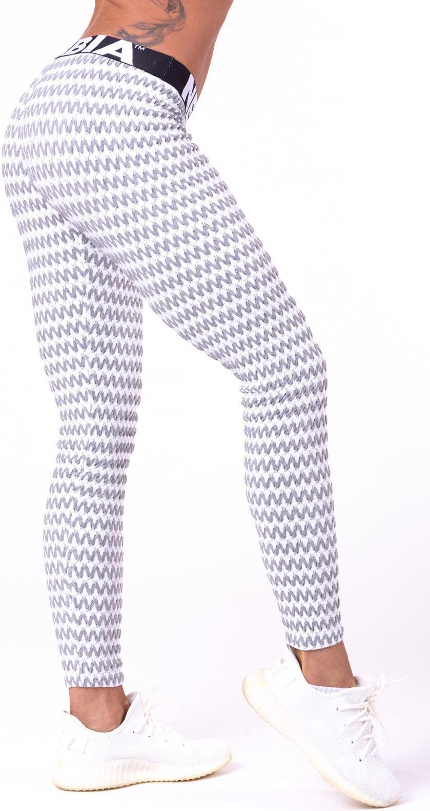 Dámské fitness legíny Nebbia Boho Style 3D pattern