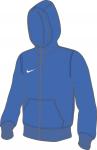 Mikina s kapucí Nike Team Club Full-Zip Hoodie