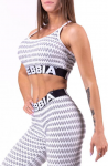 Tílko Nebbia Boho Style 3D pattern mini top