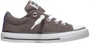 converse street slip sneaker kids brown