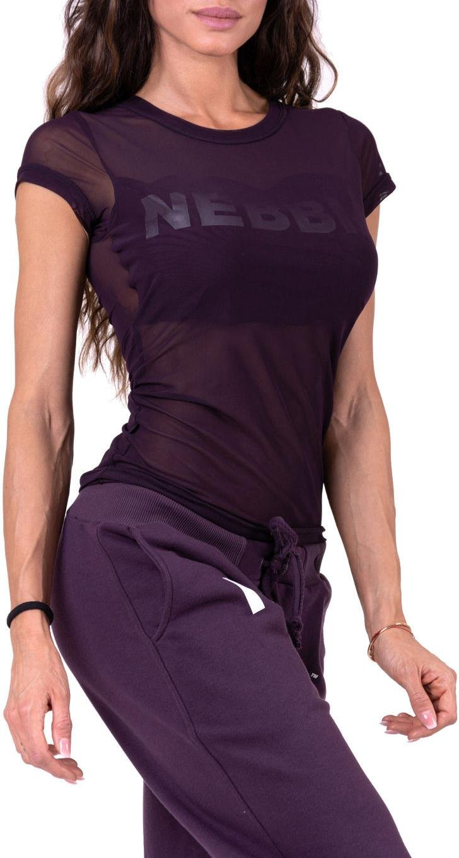 Dámské tričko s krátkým rukávem Nebbia Flash-Mesh
