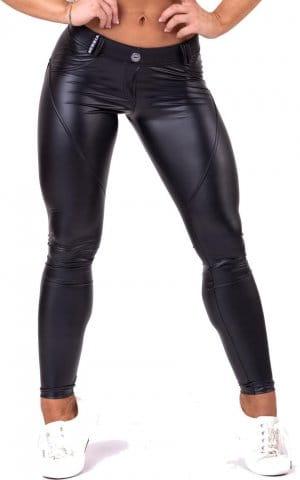 Kalhoty Nebbia Bubble butt leather