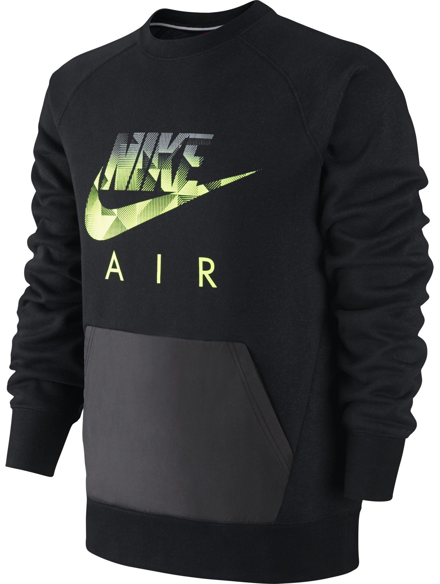 Mikina Nike AW77 FLC CREW-HYBRID