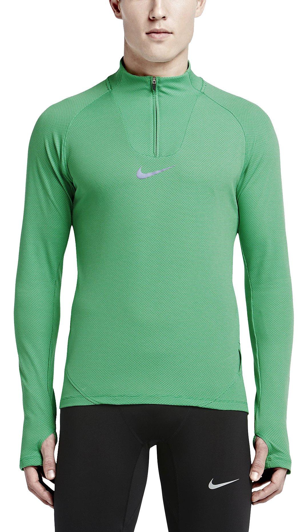 Triko s dlouhým rukávem Nike DF AEROREACT HALF ZIP