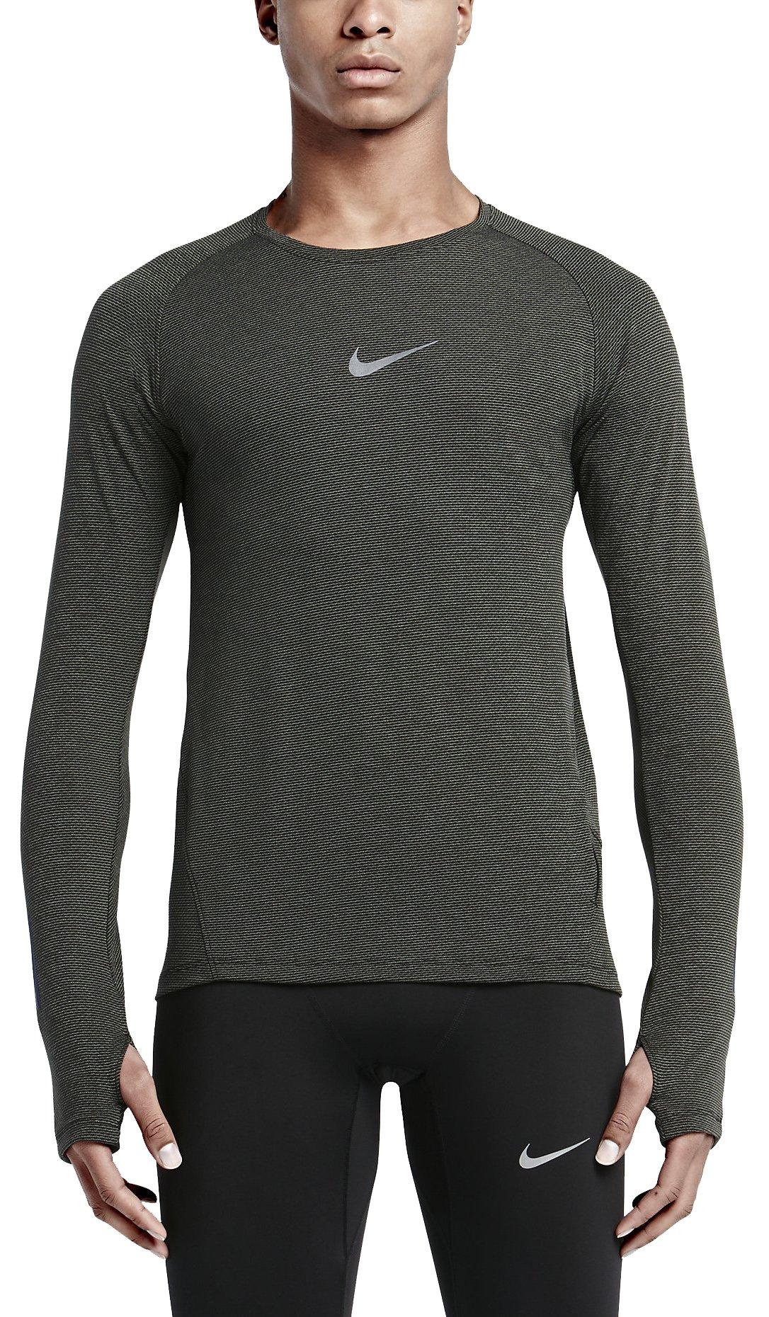 Triko s dlouhým rukávem Nike DF AEROREACT LS
