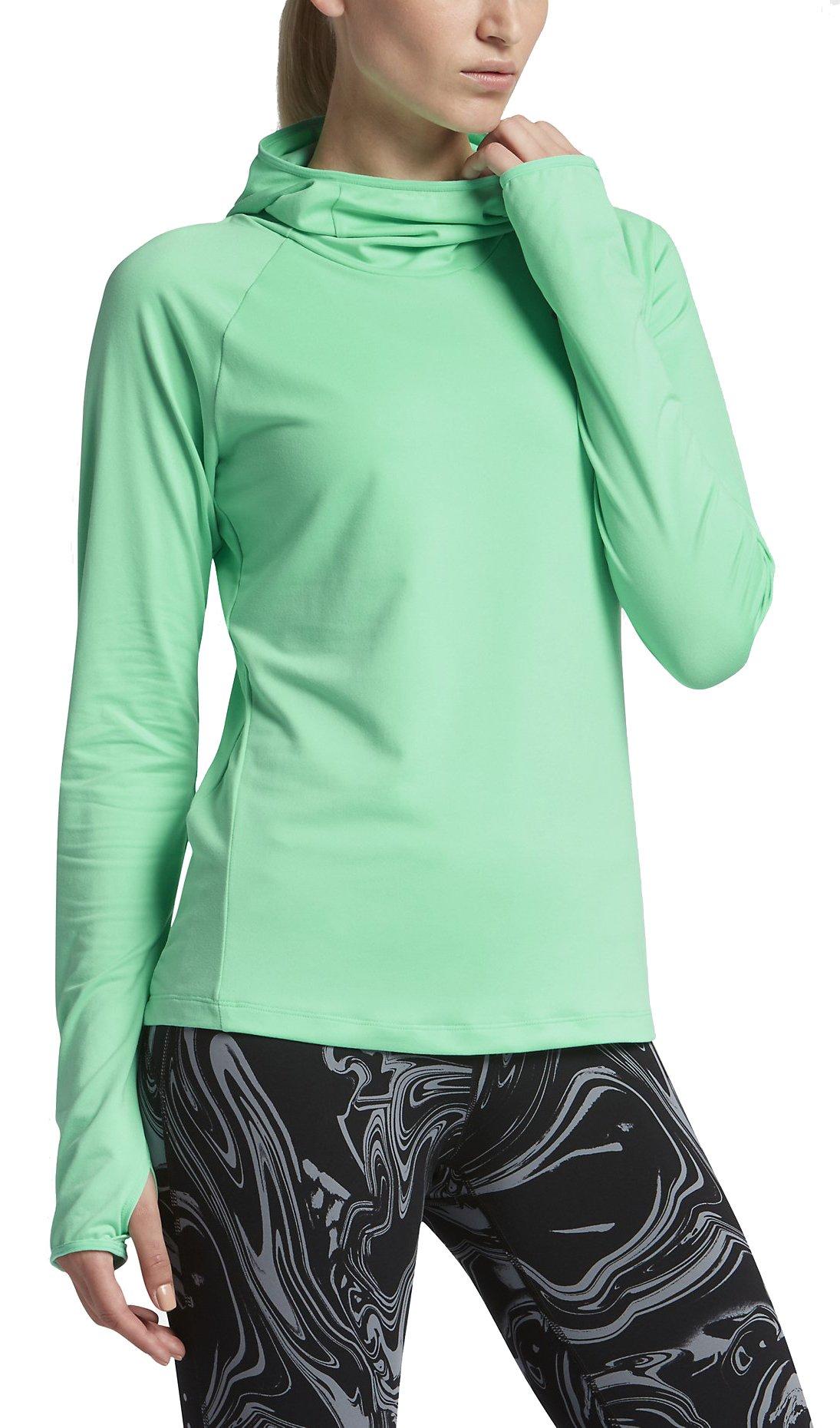 Běžecká mikina s kapucí Nike Dry Element