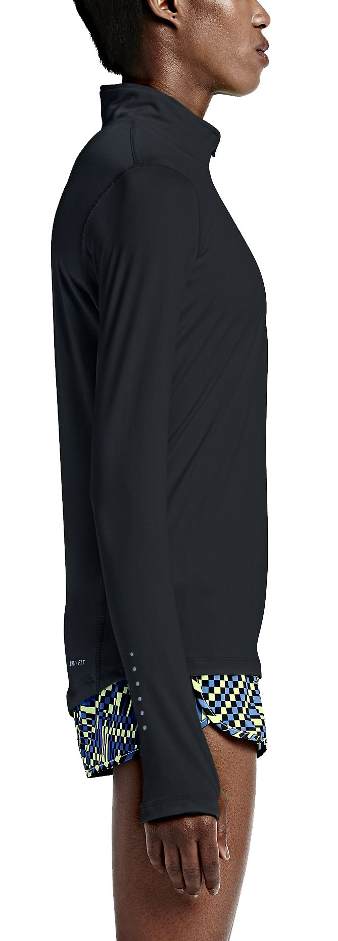 Long Sleeve T Shirt Nike Element Half Zip