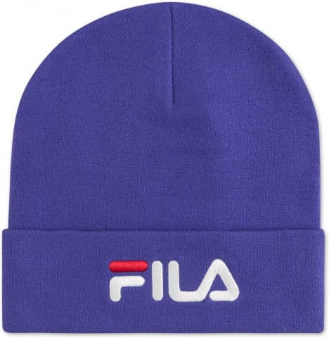 SLOUCHY BEANIE with linear logo