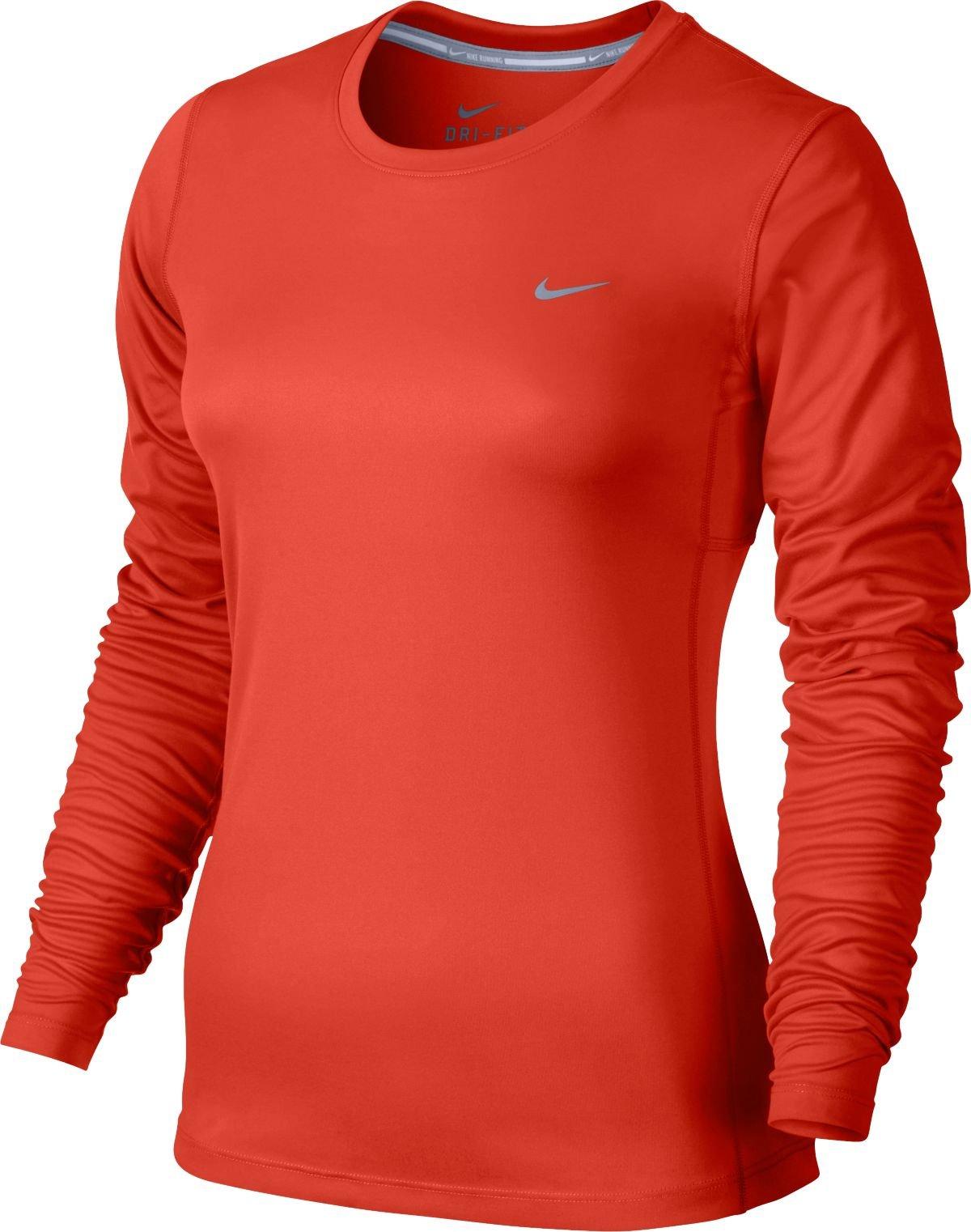 Triko s dlouhým rukávem Nike MILER LONG SLEEVE
