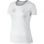 Triko Nike  MILER SHORT SLEEVE Zlata tretra