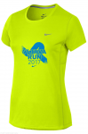 Triko Nike MILER SHORT SLEEVE VLTAVA RUN