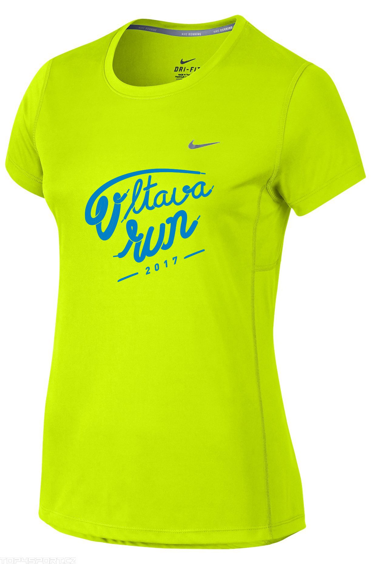 Běžecké triko Nike MILER VLTAVA RUN