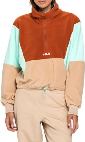 WOMEN WALTA half-zip fleece shirt