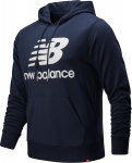 M NB ESSENTIALS STACKED LOGO PO HOODIE
