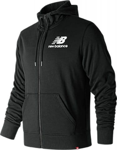 M NB ESSENTIALS STACKED LOGO FZ HOODIE