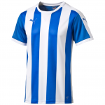 Dres Puma Striped Shortsleeved Shirt  royal-wh