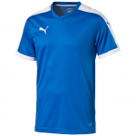 Šortky Puma Pitch Shortsleeved Shirt royal-whit