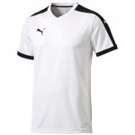 Triko Puma Pitch Shortsleeved Shirt white-black
