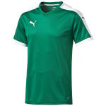 Šortky Puma Pitch Shortsleeved Shirt power green-whi