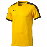 Šortky Puma Pitch Shortsleeved Shirt team yellow-bla