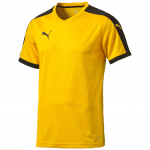 Pitch Shortsleeved Shirt team yellow-bla