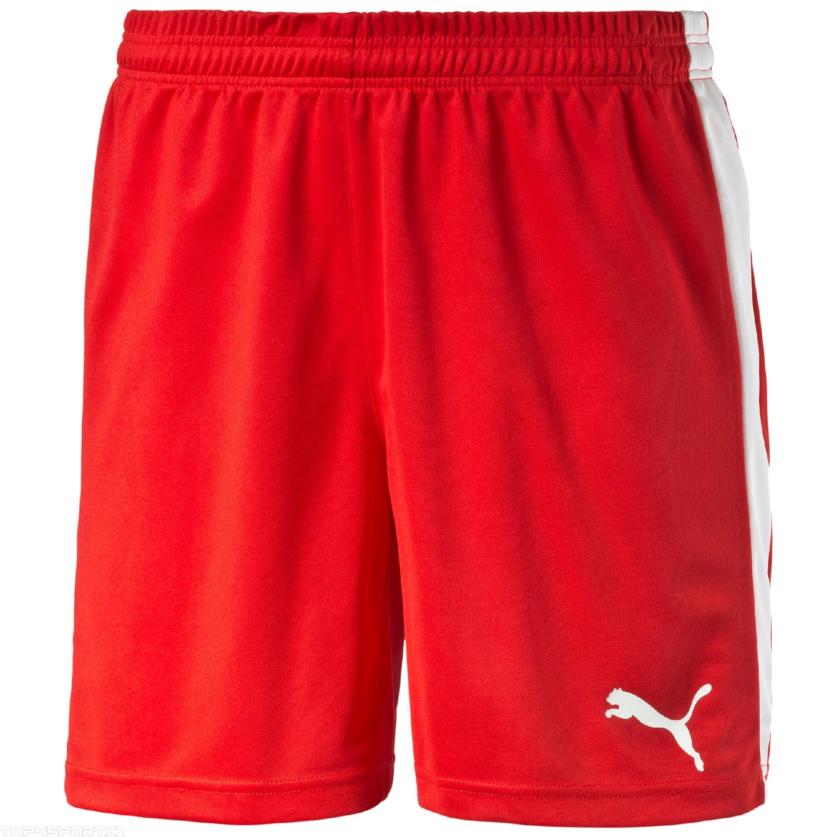 Šortky Puma Pitch Shorts Without Innerbrief red