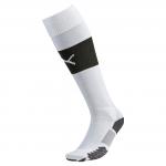 Štulpny Puma Match Socks white-black