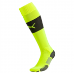 Ponožky Puma Match Socks safety yellow-black