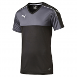 Dres Puma Accuracy Shortsleeved Shirt black-white
