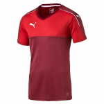 Dres Puma Accuracy Shortsleeved Shirt team burgund
