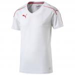 Dres Puma Accuracy Shortsleeved Shirt white- r