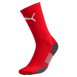 Match Crew Socks red-white