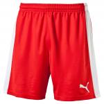 Šortky Puma Indoor Court Shorts Red- White