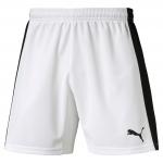 Šortky Puma Indoor Court Shorts White- Blac