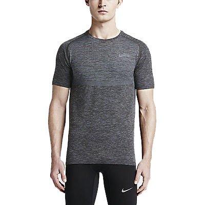 Pánské běžecké tričko s krátkým rukávem Nike Dri-FIT Knit
