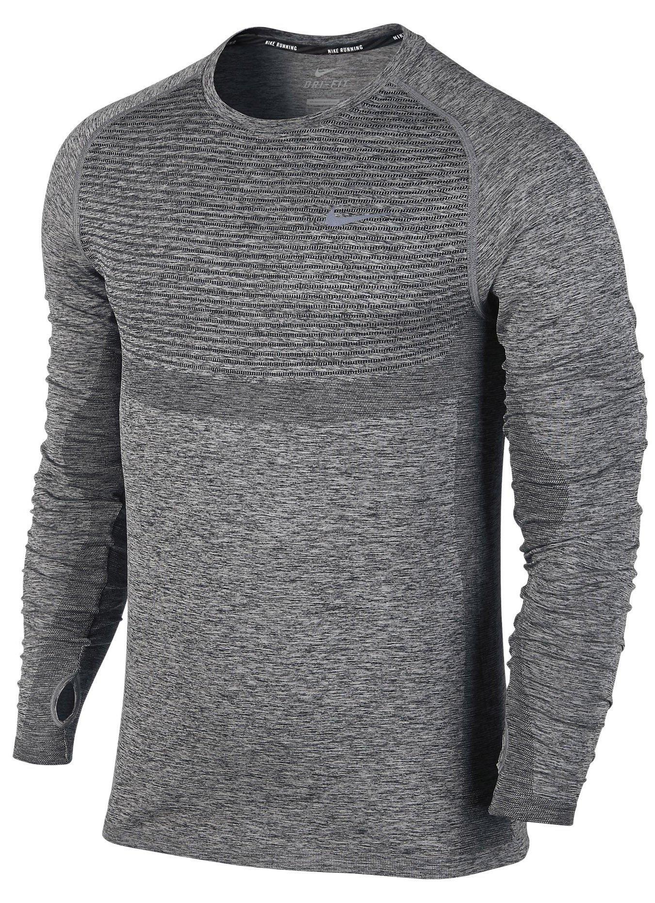 Běžecké tričko s dlouhým rukávem Nike Dri-FIT KNIT